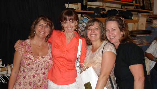 Four Friends at Andretti Winery